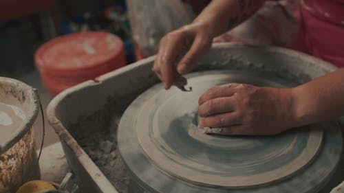 A Person Doing Pottery