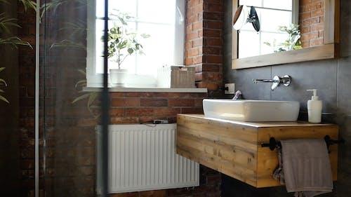 Th Interior Design Of A Home Bathroom