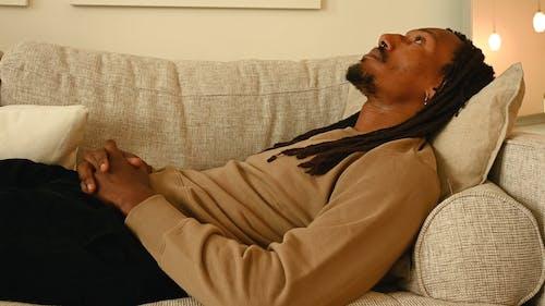 Guy Resting