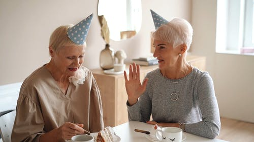 People Celebrating a Birthday