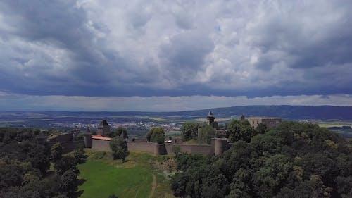 Aerial View of Helfstyn Castle