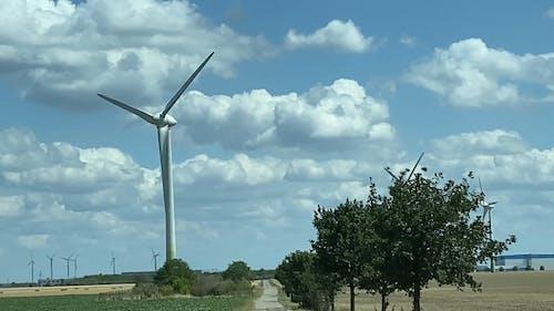 Footage of Wind Turbines