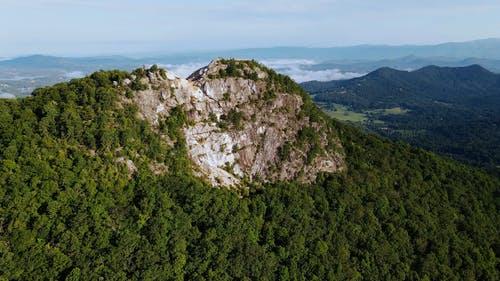 Aerial Footage of a Mountain