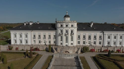 Aerial Shot of White Palace