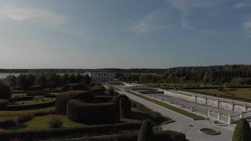 White Historical Palace and Gardens