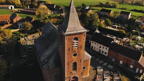 Drone Video of Old Village