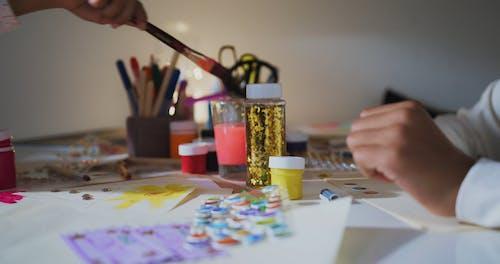 People Doing Artwork