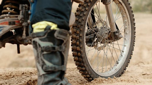 Motorcycle Tire View
