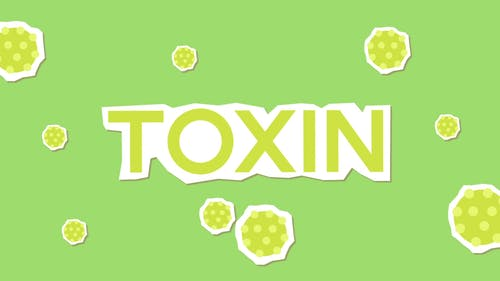 Toxin Animated Text