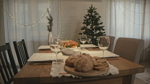 Video of Table Setting For Christmas Celebration