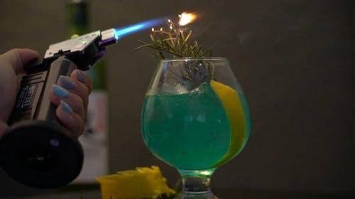 Green Cocktail Preparation