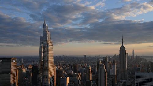 City Skyscrapers Panorama
