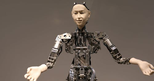 Humanoid Robot Moving