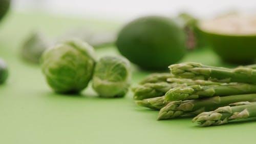 Green Vegetables Close-up