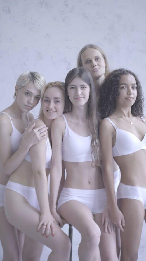 Female Models in Underwear