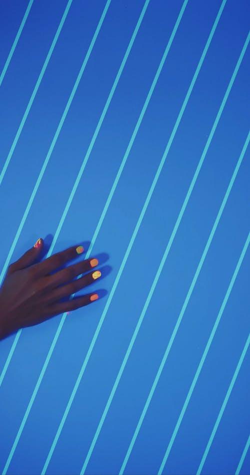 Neon Finger Print
