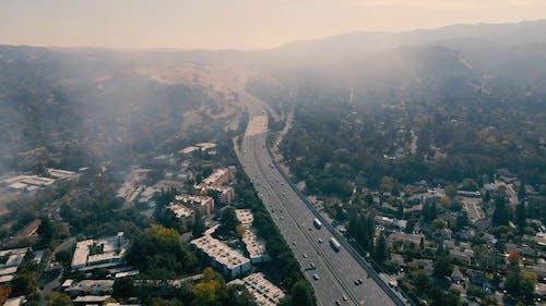 Aerial Footage of Highways