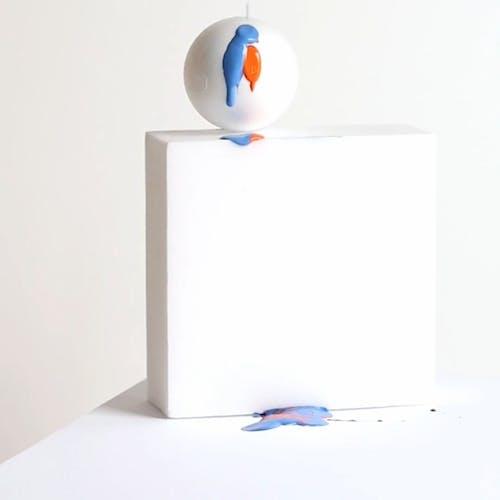 Pouring Paint Into a Shape