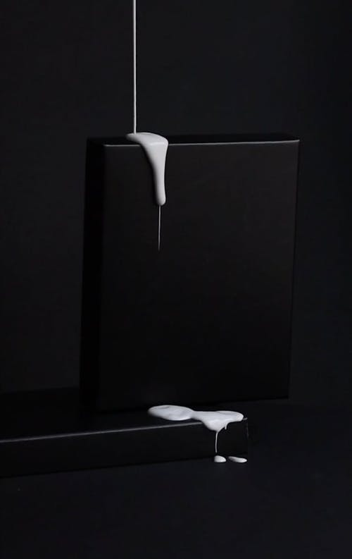 Pouring White Paint