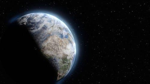 Earth Rotating