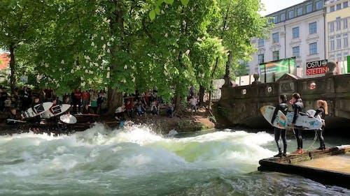 Surf English Park in Munich
