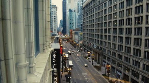 The Famous Street In Chicago