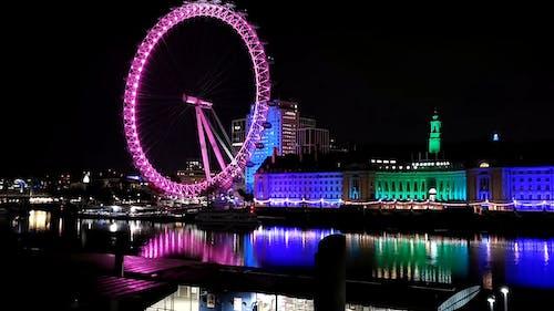 The London Eye In Central London