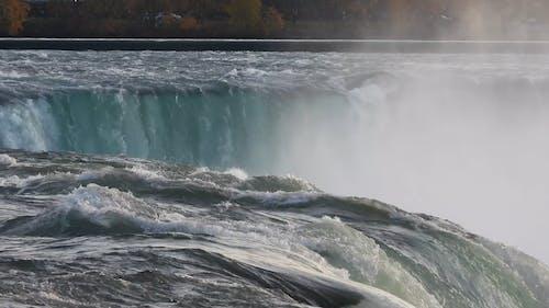 Close-Up View of Niagara Falls