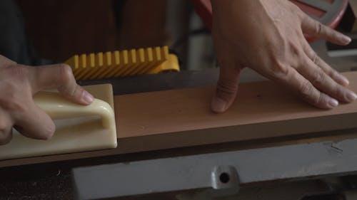 Wood Shaving Using Power Tools