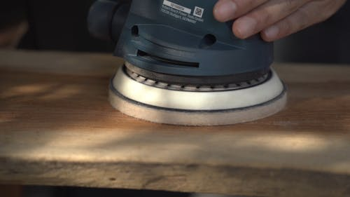 Smoothening A Wood Surface