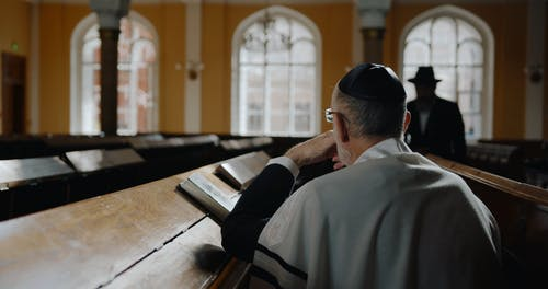 Religious Men Talking