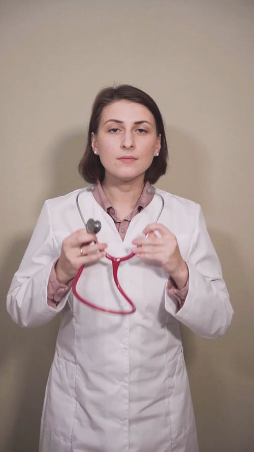 Profile Of A Lady Doctor