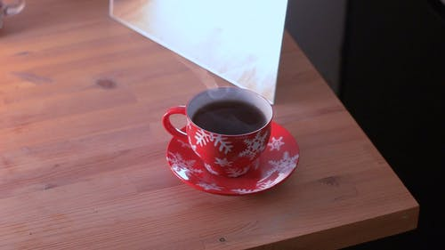 Close Up Shot of Cup of Coffee