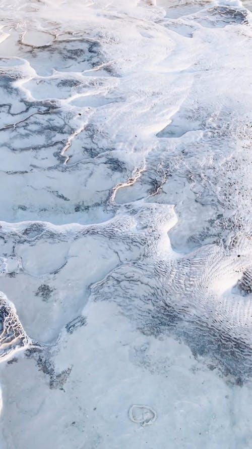 Flowing Waters of Pamukkale Thermal Pools