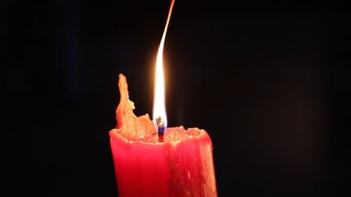 Flame Of A Burning Candle