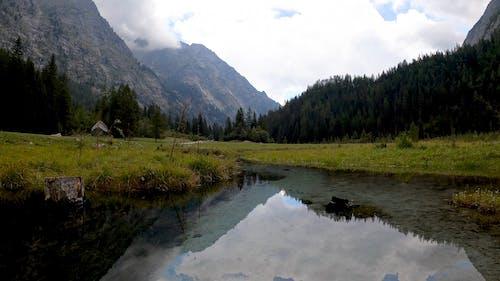 Beautiful Calm Lake at the Alps