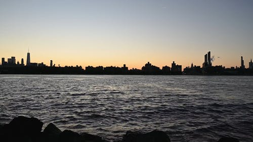 City Skyline in the Sunset