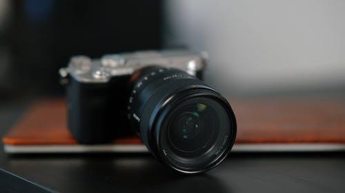Close-up Video of a Camera