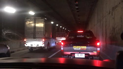 Busy Street Tunnel