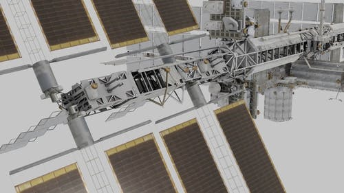 A 3D Animation of the International Space Station