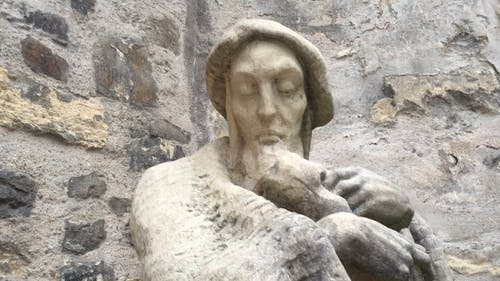 Close Up of Statue