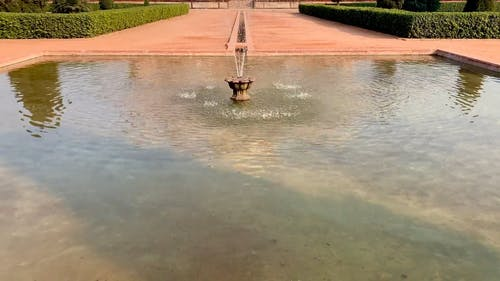 View of Humayun's Tomb Delhi