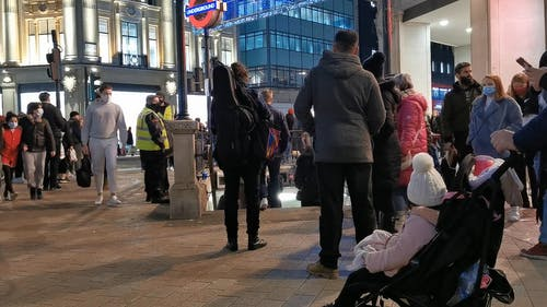 People Near Subway London