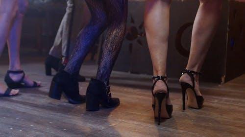 Women Dancing Together