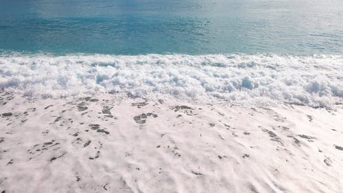 Drone Footage Of The Beach