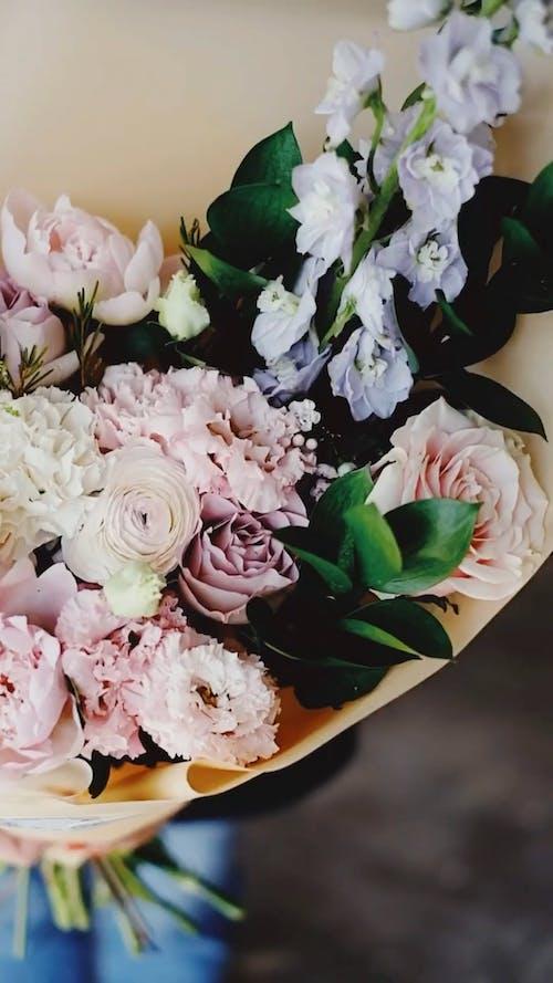 Light Pink Flowers Bouquet