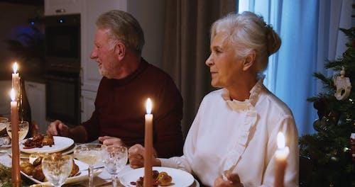 A Family Dinner On Christmas