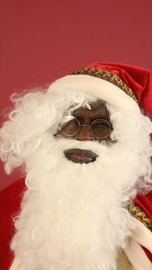 A Thinking Santa Claus