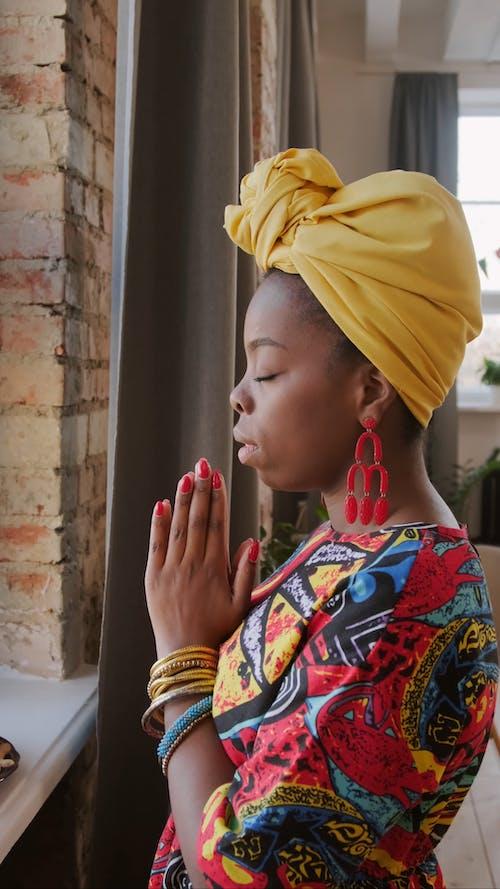 Video Of Woman Praying