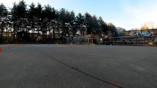 Man Skating in the Park